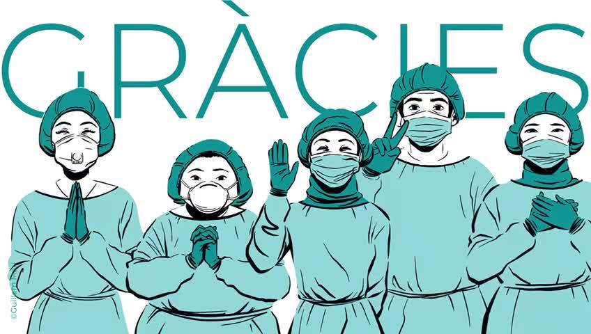 El hospital de Formentera homenajea con un vídeo a quienes han colaborado en la crisis sanitaria