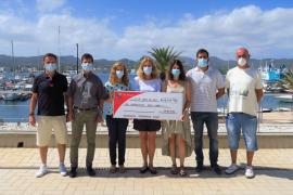 La marcha cicloturista des Porquet entrega 1.411 euros al colegio Vara de Rey