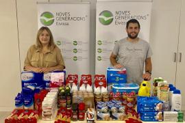 NNGG Ibiza se suma a la campaña de recogida de alimentos para las familias afectadas por la Covid-19