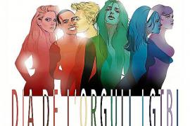 Actividades 'on line' y luz en el orgullo LGTBI