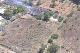 Declarado un incendio en Sant Antoni