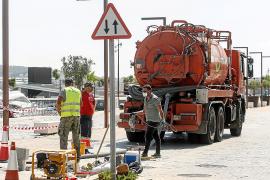 Vila completa las obras de los aliviaderos del puerto de Ibiza