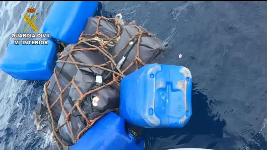La Guardia Civil se incauta de 145 kilos de cocaína hallada en aguas de Ibiza y Formentera