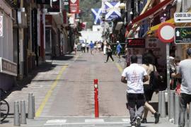Los empresarios del West End se manifestarán frente al Ayuntamiento de Sant Antoni