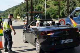 Reabierta la frontera de España con Francia en la Jonquera tras el fin de la alarma
