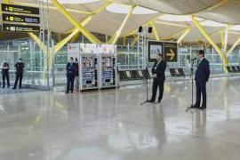 Los aeropuertos españoles prevén recibir 100 vuelos del espacio Schengen este domingo