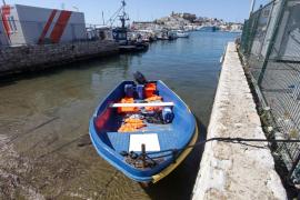 Llega una patera a la costa de Ibiza