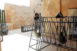 Exposición en el baluarte de Sant Jaume.
