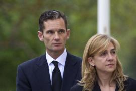 La infanta Cristina  e Iñaki Urdangarín, al límite