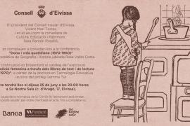 Conferencia de Rosa Vallès Costa 'Dona i vida quotidiana (1870-1950)'