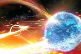 Descubren la fusión de un agujero negro con un objeto 'misterioso'