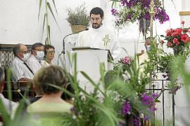 Mascarillas en el día grande de Sant Joan
