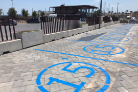 El Consell de Formentera amplía las plazas de aparcamiento limitado a 15 minutos en la Savina