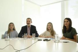 La princesa Leonor se disculpa en catalán por tenerse que aplazar la entrega de los premios Princesa de Girona