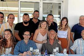 Ángel Ribas Viudez se jubila después de más de 40 años trabajando en Trasmediterránea