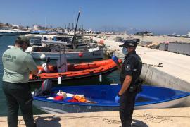 Interceptados 17 inmigrantes desembarcados en Formentera en una segunda oleada de pateras