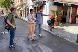 Vila inicia un plan de limpieza especial en el barrio de la Marina