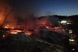 Prisión provisional para un joven italiano detenido por el incendio forestal de Sant Joan