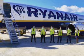 Ryanair establece nuevas medidas de seguridad y aumenta el número de vuelos a partir del miércoles