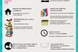 Las bibliotecas de Sant Josep se adaptan a la nueva normalidad