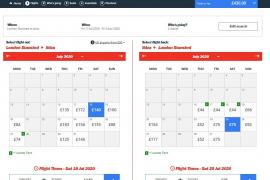 Los vuelos desde Reino Unido duplican sus tarifas habituales hasta finales de julio