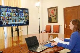 Aluvión de críticas a Armengol por no conseguir alargar los ERTE como Canarias