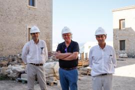 Las obras en El Parador de Ibiza, en imágenes