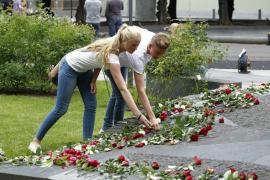Noruega honra a las víctimas de los atentados de Oslo