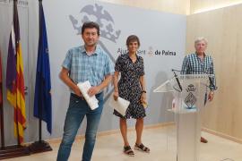 Alberto Jarabo, Delia Bento y Tomás Lladó