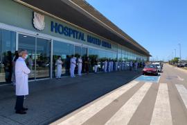 Fallece la niña de dos años que cayó a una piscina de Ciutadella
