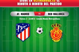 Atlético de Madrid-Real Mallorca