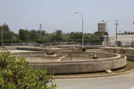 El 70% del agua que llega a las depuradoras de Ibiza no es apta para su reutilización