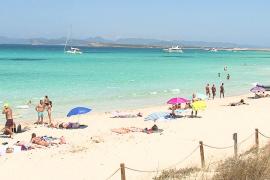 Las aerolíneas ralentizan el arranque de la temporada en Formentera