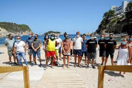 Los concesionarios de las playas de Sant Joan exigen una prórroga urgente