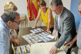 Sant Josep recibe la donación de 108 fotografías del entorno de Sant Jordi de 1976