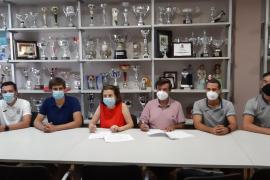 Firmado el acuerdo de patrocinio del Govern con la Peña Deportiva y el Ushuaïa Vóley