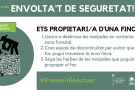 Formentera se suma a una campaña de prevención de incendios