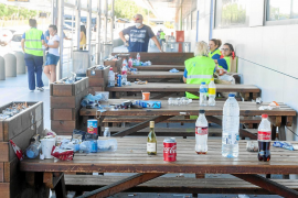 La suciedad se acumula en el aeropuerto de Ibiza tras la apertura del espacio aéreo