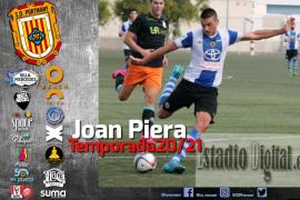El delantero Joan Piera se suma a la plantilla del Portmany