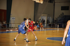 Javier Herrero, un alero alto y multiusos para el Bàsquet Sant Antoni
