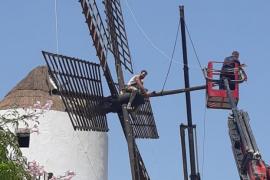 Comienzan las obras de reposición de diversos elementos del molino de Porxet