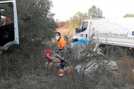 El Ayuntamiento de Eivissa desmantela un asentamiento ilegal en Ca n'Escandell