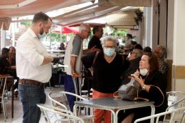 Las mascarillas serán obligatorias en bares y restaurantes salvo para comer o beber