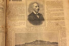 L'Arxiu Històric d'Eivissa organiza una jornada de puertas abiertas con motivo del 150 aniversario del nacimiento de Artur Pérez-Cabrero