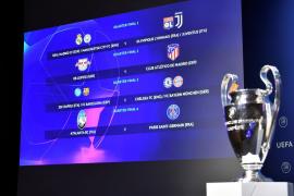 Así es el cuadro final de la Champions