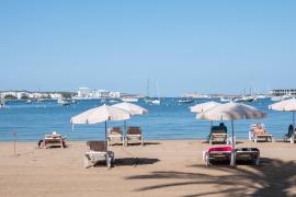 Sant Antoni adjudica la concesión de playas con un 20% menos de ocupación