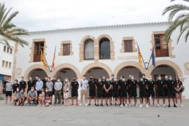Recepción del Ayuntamiento de Santa Eulària a la Peña Deportiva