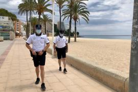 Una mujer con COVID-19 que no era localizada moviliza a la Policía en Mallorca