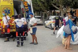 Un niño de 3 años, a punto de morir ahogado en una playa de Mallorca mientras jugaba con su hermano