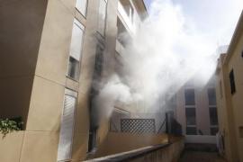 Incendio en Ciutadella
